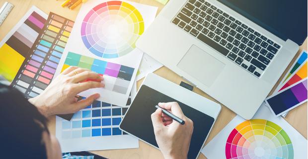 Farbschema Webdesign